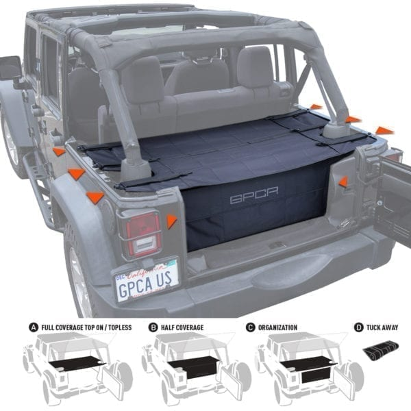 GPCA cargo cover PRO freedom pack