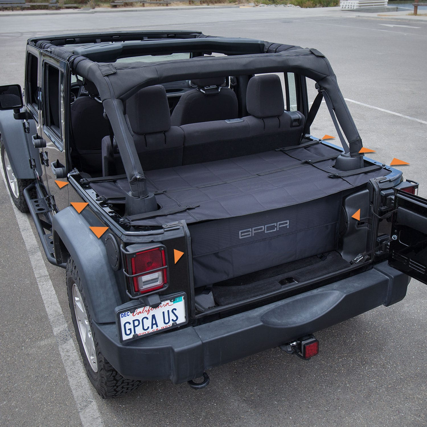 Gpca Jeep Wrangler 4dr Cargo Freedom Pack Pro Reversible And